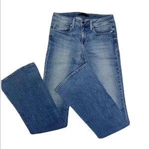 GENETIC DENIM Jeans 'The Leaf' fit and flare Sz 27